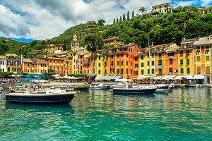 Fantastic Portofino fishing village