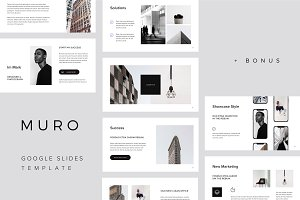 MURO - Google Slides Template +Bonus
