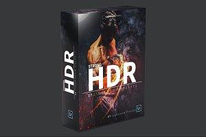 Strong HDR Lightroom presets