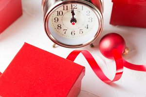 Christmas countdown to the new year