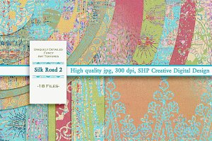 Silk Road 2:  Creative Texture Set