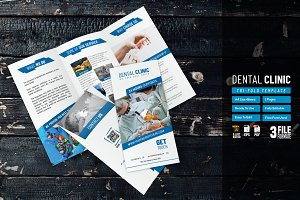 Dental Clinic Trifold Template