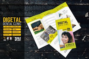 Digital Dental Clinic Tri-fold