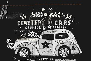 Cemetery of cars