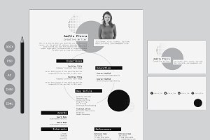 Resume Template & Business Card