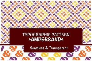 Typography Pattern Ampersand