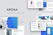 ARONA - Powerpoint Template + Bonus