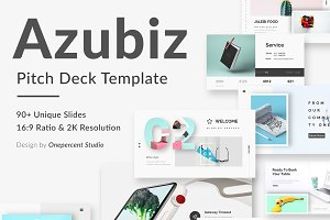 Azubiz Creative Keynote Template