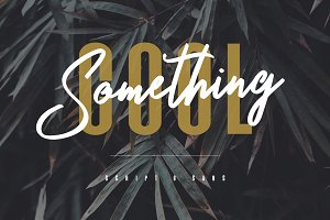 Something Cool - Font Duo