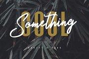 Something Cool - Font Duo