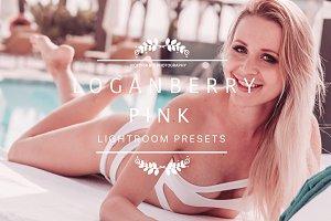 LOGANBERRY Pink Blogger Presets