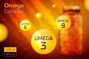Omega 3 6 9 Complex template