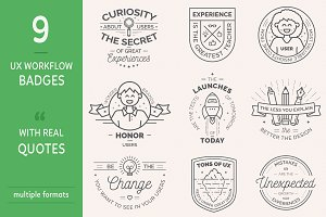 UX Workflow - Badges