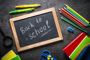 School and office stationery on
