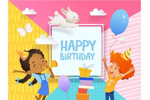 Happy Birthday Kid's Card
