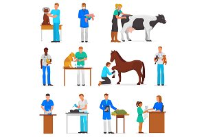 Veterinary vector veterinarian