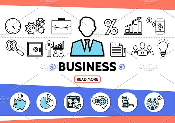 Business elements template