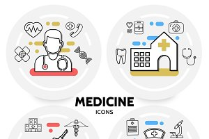 Medicine and healthcare concept