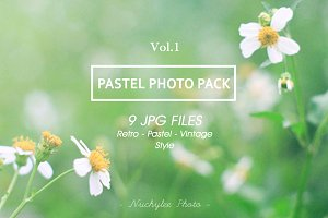 Pastel Photo Pack Vol.1