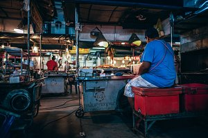 Koh Phangan Night Market Stalls