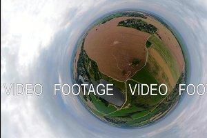Rural landscape VR360