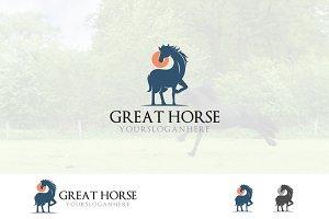 Gallant Equestrian Horse Logo