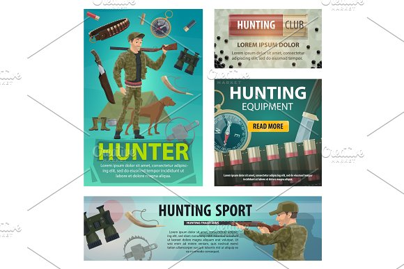 Hunting sport cards