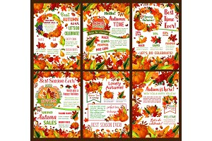 Autumn harvest sale offers