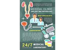 Urology nephrology medical clinic