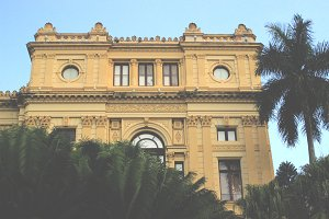 Sao Paulo • Museum Front View