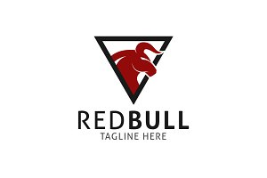 Red Bull Logo Template