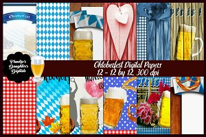 Oktoberfest Traditional Papers