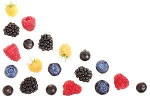 blackberry blueberry raspberry black