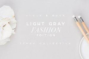 LIGHT GRAY | Fashion Stock Mockup
