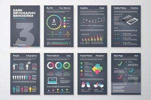 Infographic Brochure 3 Dark Version