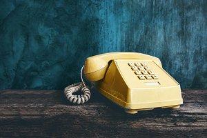 Vintage Retro Office Telephone