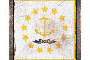 Old Rhode Island flag