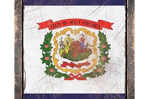 Old West Virginia flag