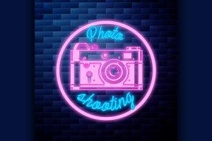 Vintage photographer emblem