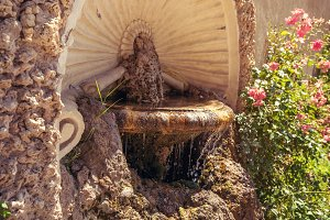 An ancient fountain