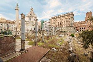 Roman Imperial forum