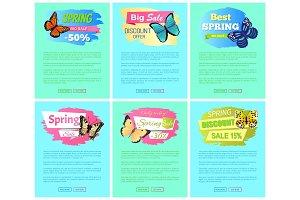Sale Spring Discount Label Online