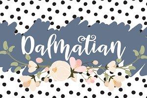 Dalmatian Script Font