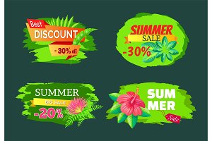 Discount 30% Off Summer Big Sale Set