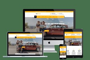 AT Rental – Rental Website template