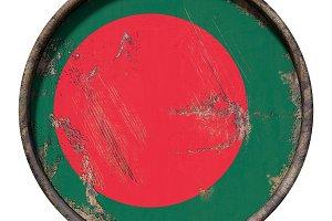 Old Bangladesh flag