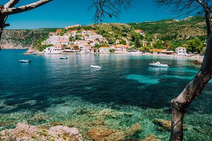 Assos village, Kefalonia Greece