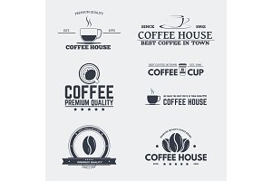 Coffee house emblems