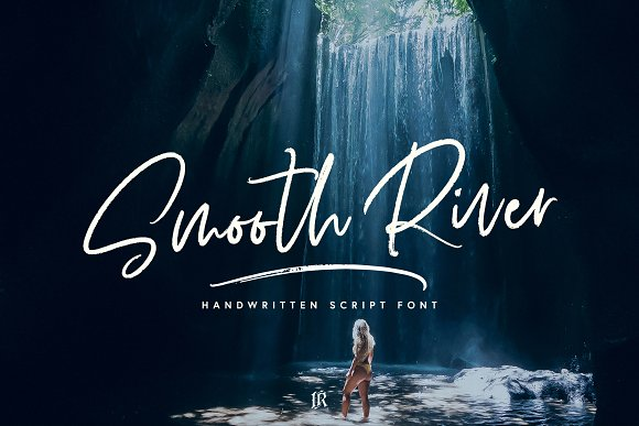 Smooth River Font