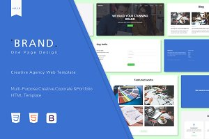 Brand - Creative Agency Web Template